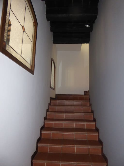 Le scale di ingresso
