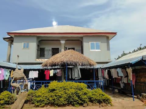 Nkoranza midden in Ghana, hartverwarmend avontuur