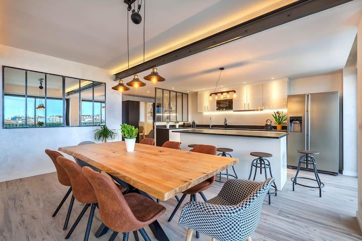 INDUS LOFT - salle à manger - moderne