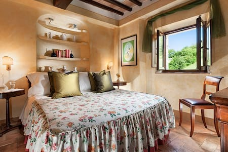 Doble ensuite in four star hotel - Bagno Vignoni - Bed & Breakfast