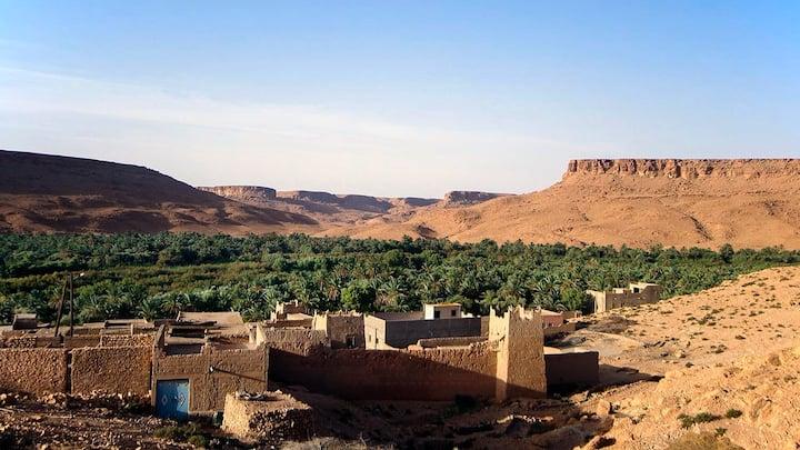 Oasis del riu Ziz. Tradició amazigh