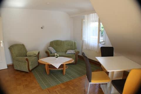 Acogedor y tranquilo apartamento de 2 habitaciones