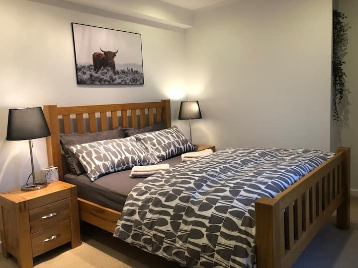 Spacious Bedroom in Family House