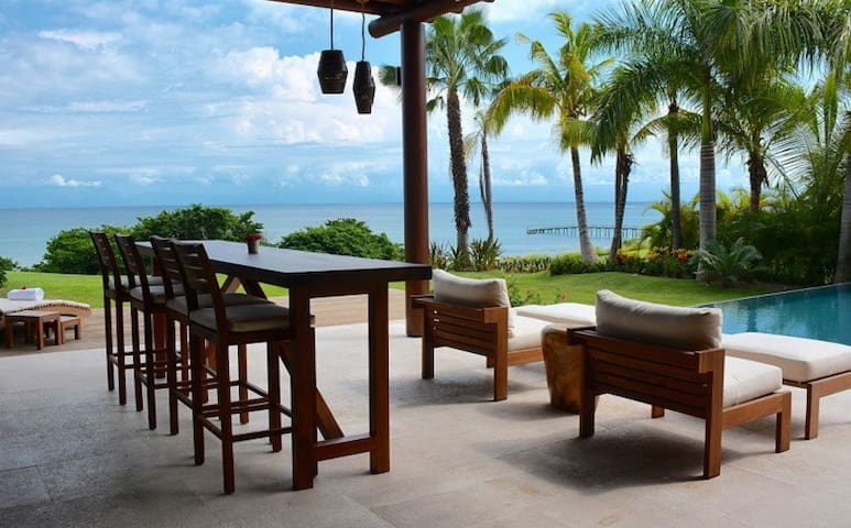 Beach front home in Punta mita, Gated area - San Vicente