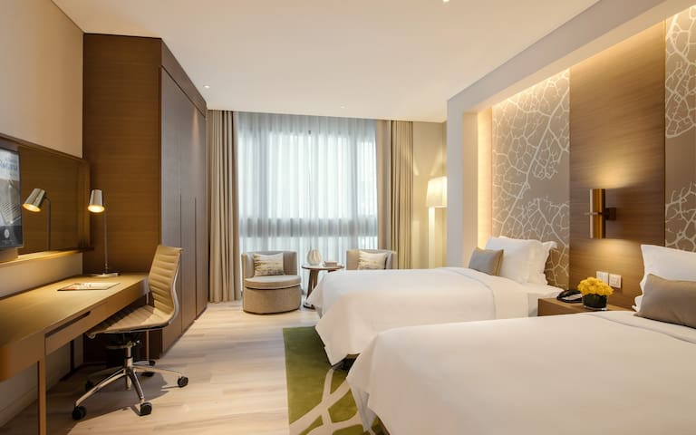 Studio Twin Bed Al Bandar Arjaan by Rotana