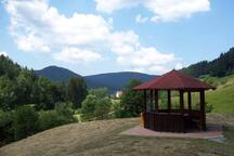 Reichenbachtal - beautiful view of the Reichenbachtal which you can reach within 20 min by walking