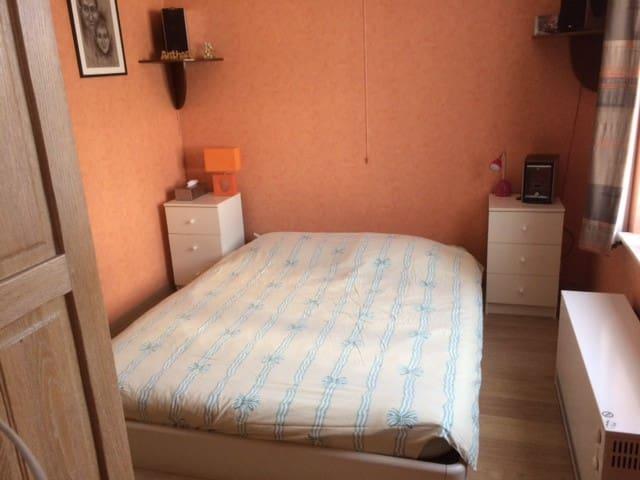 Chambre 1 à 2 personnes dans villa proche de Bxl