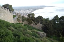 Castle of Nafpaktos - panoramic view of the city