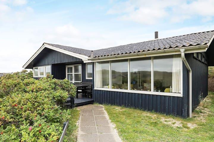 Maison de vacances pour 6 a Løkken