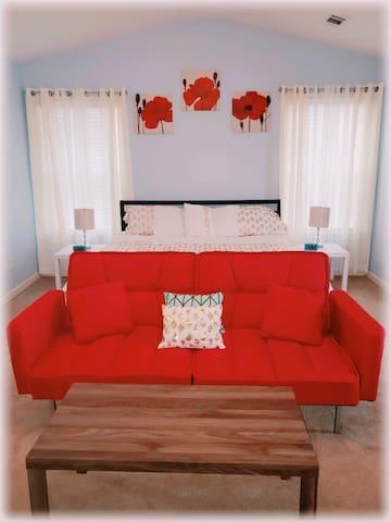 Opelika & Auburn Comfort Private Bedroom 2