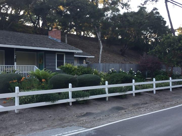Monterey Home with a Secret Garden!