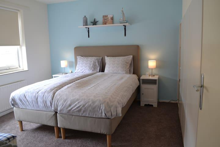 Gezellige tweepersoons kamer met zee thema - Domburg - Szoba reggelivel