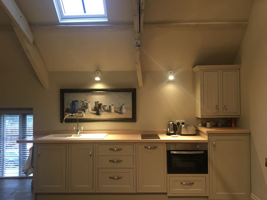 Electric hob, oven and dishwasher