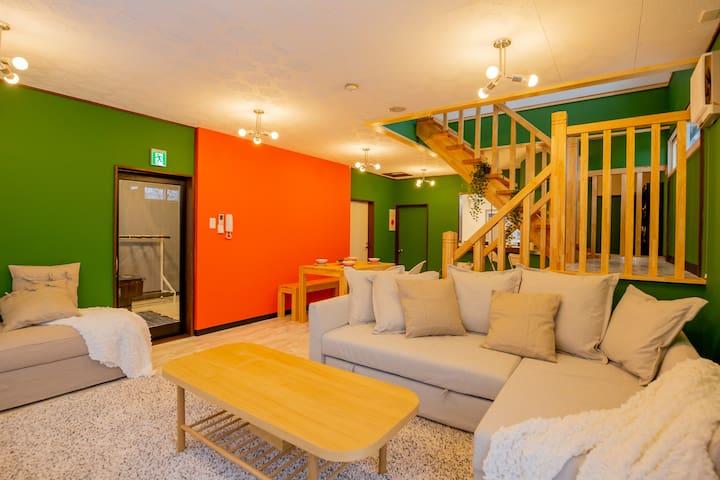Yuzawa Onsen Lodge 1min to LIFT House B!