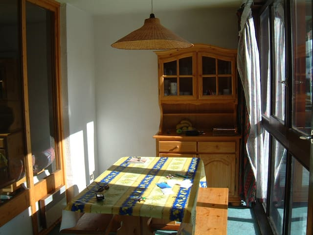 Ski Out Ski In. Two Room Flat: Space, views Wi-Fi -  Val Thorens  - Apartamento