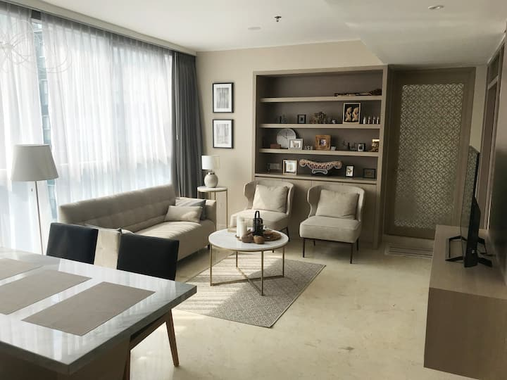Penthouse executive apartment in central Jakarta