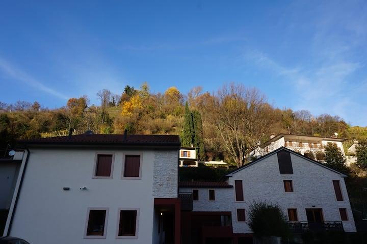 Borgo dei Cortivi 4 Follina (TV) relax zona Unesco