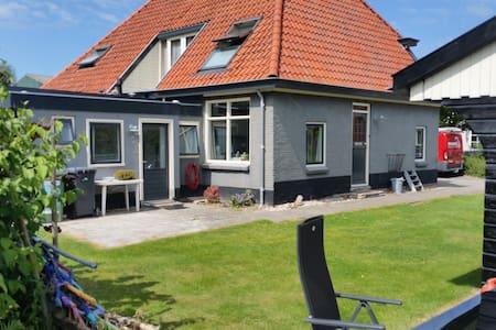 Relax in landelijk Van Ewijcksluis aan Amstelmeer - Anna Paulowna - Cabaña