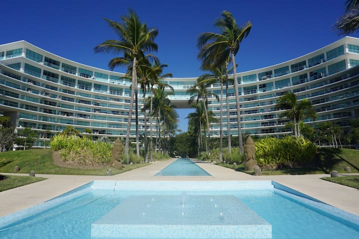 Beachfront Apartment - Nuevo Vallarta - Apartemen