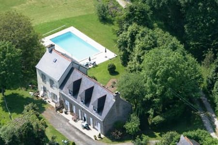 Gite With Heated Swimming Pool, Hot Tub - Langonnet - Villa - 1