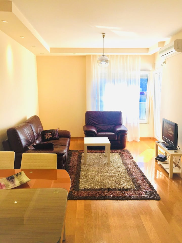 Pina - two room apartment. 100 m from the sea.