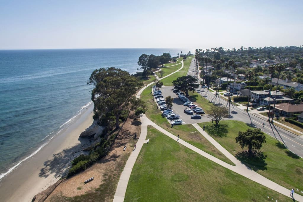 Get the full view of the Santa Barbara coastline!