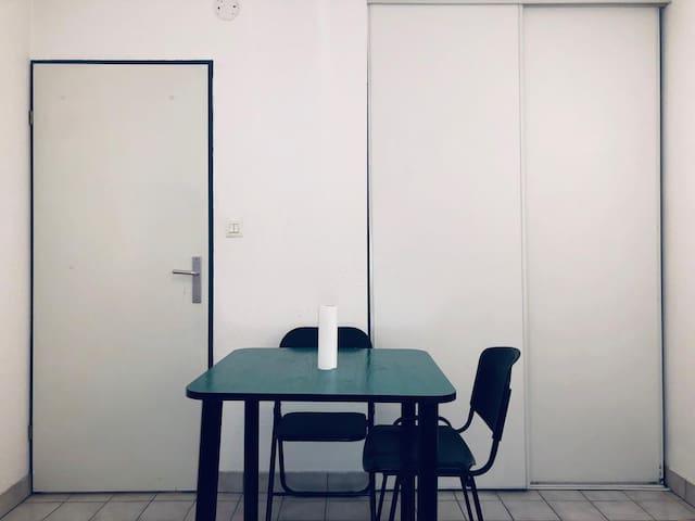studio très confortable et paisible