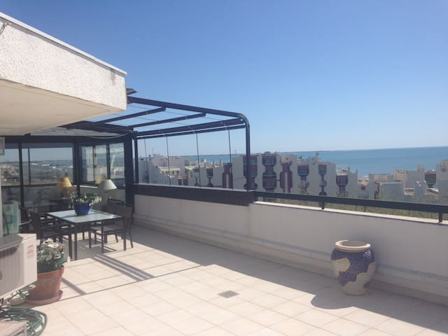 Appartement toit-terrasse avec vue mer d'exception
