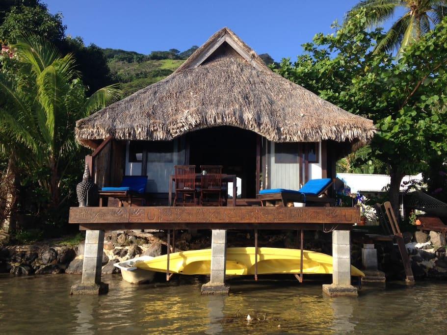 bungalove too vue du lagon