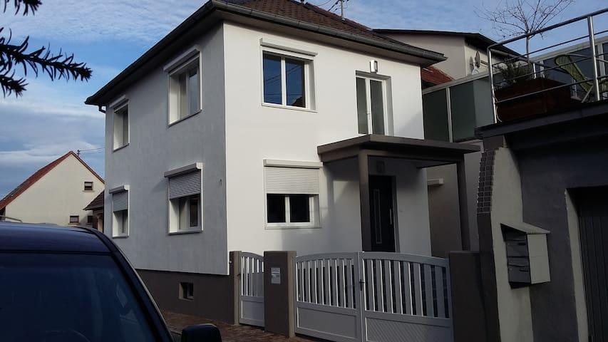 Haus für die Familie im Elsass - Seltz