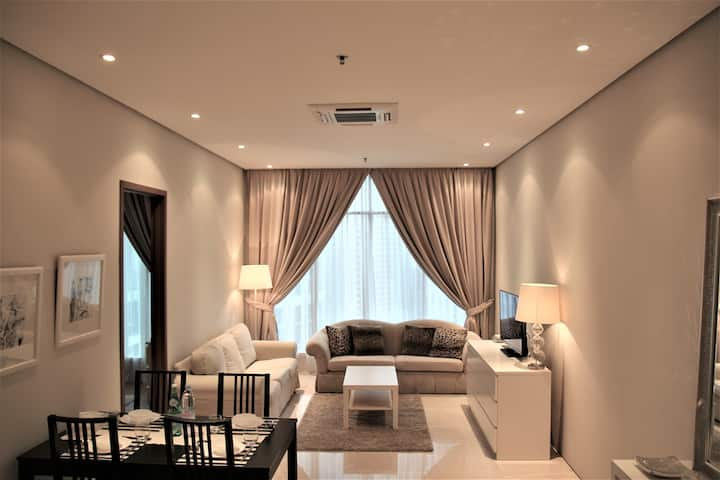 KLCC Suites,2Rooms,5pax,10min to Pavilion & KLCC
