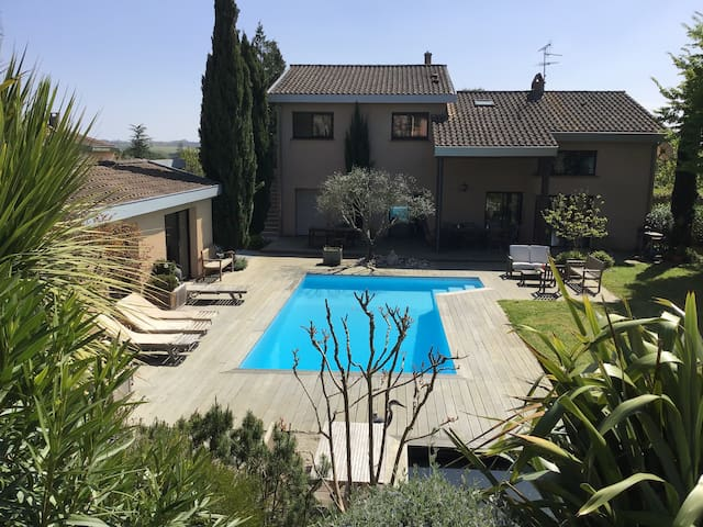 PIBRAC: Chambre dans villa avec piscine N° 2