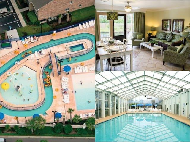 Myrtle Beach 2 Bed/2 Bath Resort~Pools~Lazy River