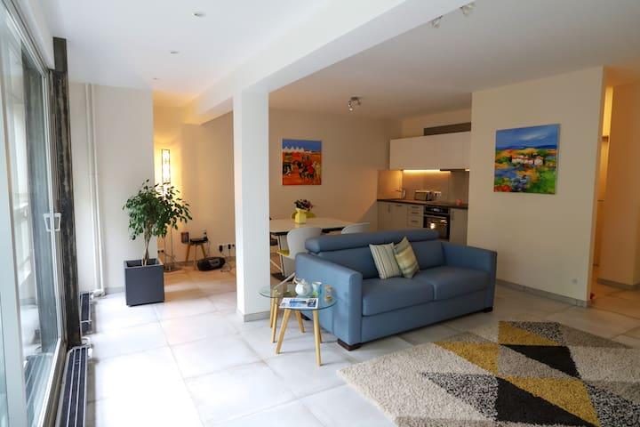 Coquet appartement, vue verdure!