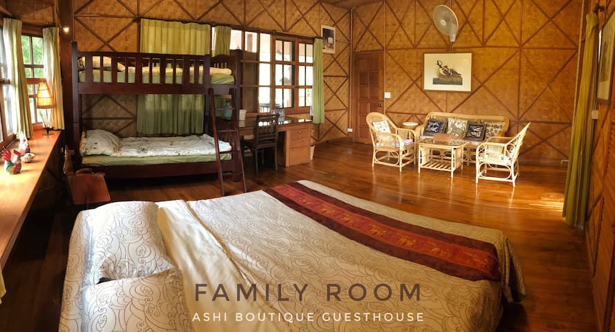 Ashi Guesthouse Big Family Room