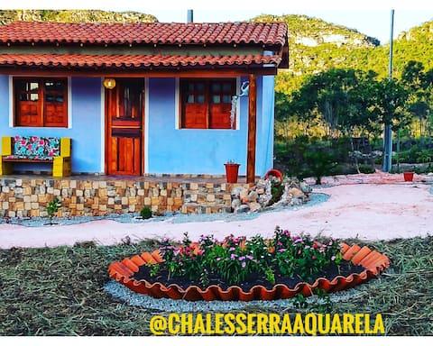 Pousada Serra Aquarela - Casa Pingo lilás