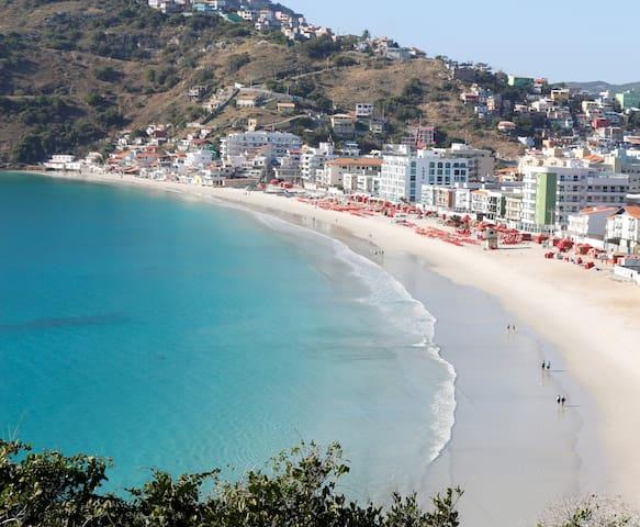 Ap novo com wi-fi na Prainha - Arraial do Cabo