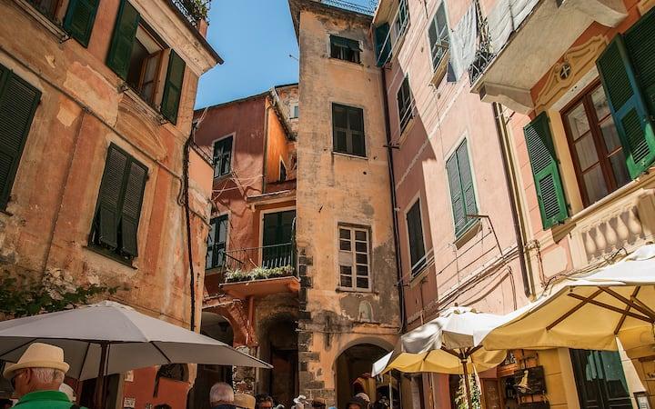 Monterosso, historic centre