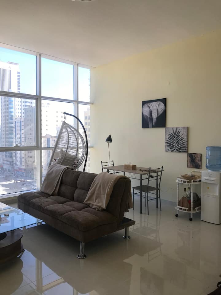 Fujairah Sea and City view apartment