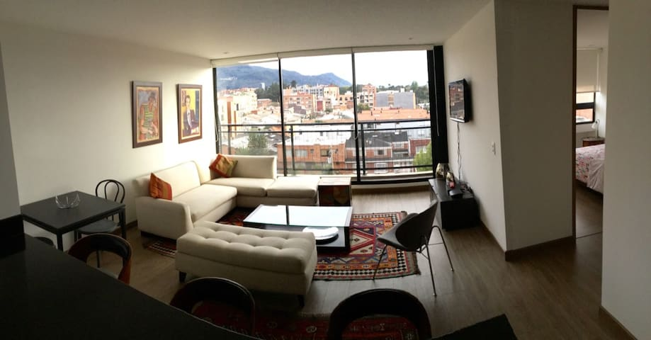 ¡Aptmt. in Cedritos, with nice view and comfty! - Bogota - Apartament