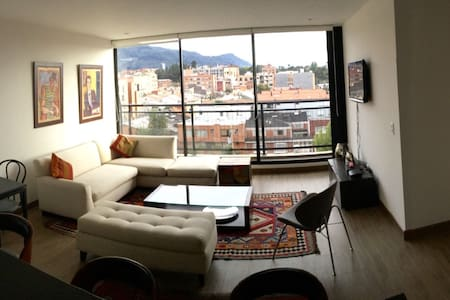 ¡Aptmt. in Cedritos, with nice view and comfty! - Bogotá