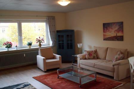 Wohnung im Zentrum von Leck - Leck - Lägenhet