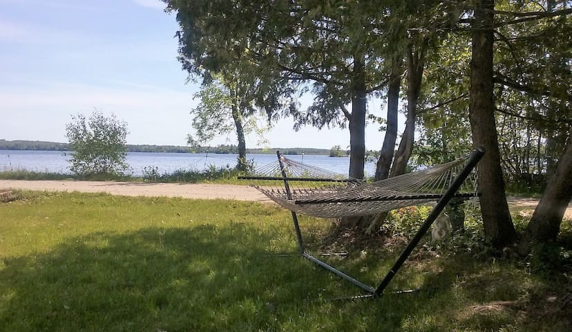 Hammock and view