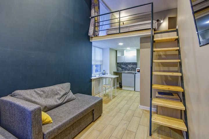 11 Апартамент URoom на Первомайской