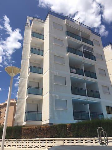 Apartamento/Ático en playa familiar - Guarda mar de la safor - Daire