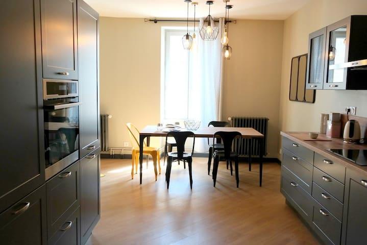 Appartement cosy sur le Chemin de St Jacques - Saint-Léger-de-la-Martinière - Byt