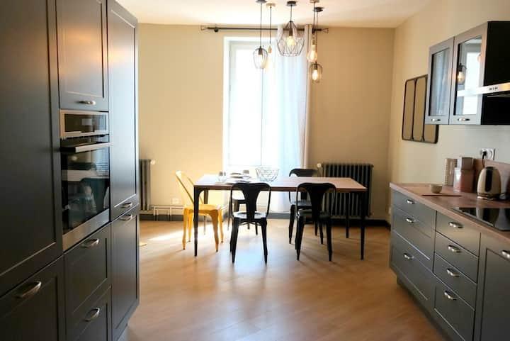 Appartement rénové de 55m* entièrement équipé