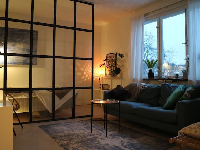 Studio apartment 7 minutes from Kungsholmen!