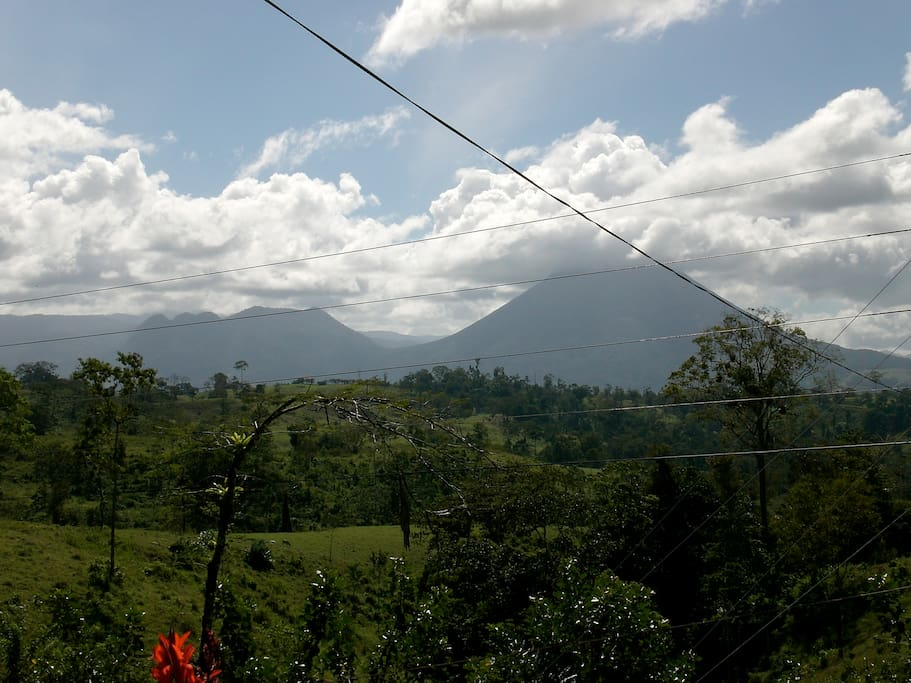 Volcano Arenal, view from main entrance