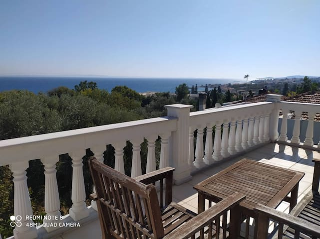 Aegean View in Chios Island